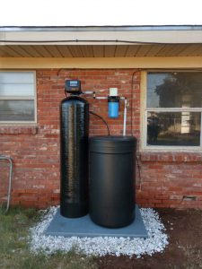 120 K Water Softener And Big Blue Prefilter