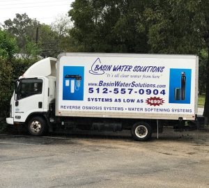 Basin Water Solutions Truck