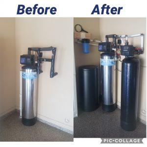 Installing Prefilter, 64 K Water Softener