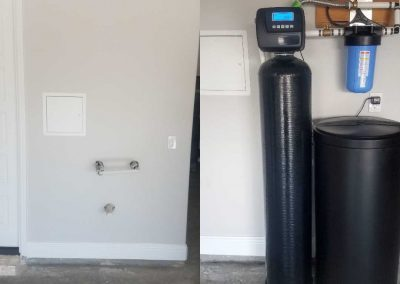 Before After Prefilter, 48 K Water Softener