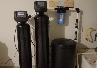 Catalytic Carbon and Water Softener Whole House Filtration