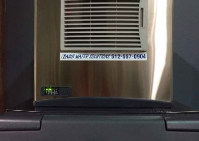 Commercial Ice Maker Installed