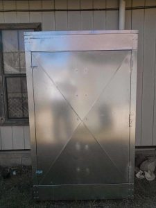 Custom Outdoor Insulated Cover for Water Treatment Equipment (2)