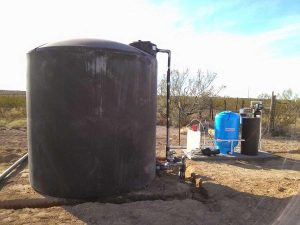 Holding Tank For Well Water Treatment System