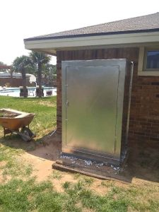 Outdoor Insulated Cover For Water Treatment Equipment