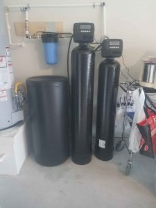 Prefilter, 1.5 Cu Ft Catalytic Carbon And 32 K Water Softener