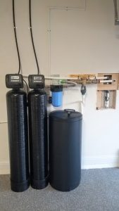 Prefilter, 1.5 Cubic Ft. Catalytic Carbon, 48 K Water Softener Installed 10