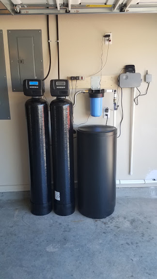 Prefilter, 1.5 Cubic Ft. Catalytic Carbon, 48 K Water Softener Installed 12