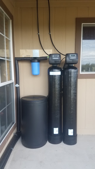 Prefilter, 1.5 Cubic Ft. Catalytic Carbon, 48 K Water Softener Installed 14