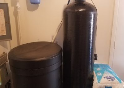 Prefilter, 120 K Water Softener Installed