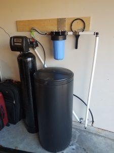 Prefilter, 32 K Water Softener Installed