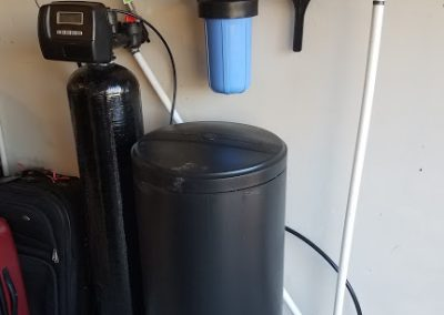 Prefilter, 32 K Water Softener Installed