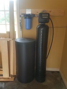 Prefilter, 48 K Water Softener Installed 2