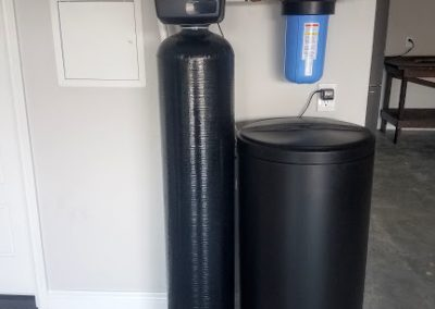 Prefilter, 48 K Water Softener Installed 3