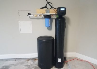 Prefilter, 48 K Water Softener Installed 4