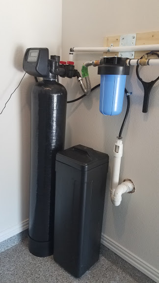 Prefilter, 48 K Water Softener Installed 6
