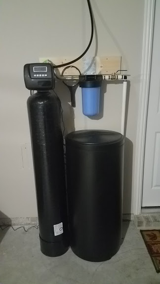 Prefilter, 48 K Water Softener Installed 7