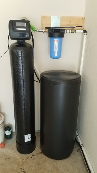 Prefilter, 48 K Water Softener Installed 8