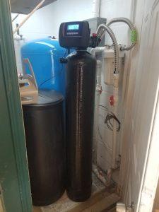 Prefilter, 48 K Water Softener Installed On Well Water