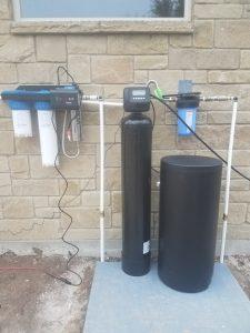 Prefilter, 48 K Water Softener, UV Light Disinfection System Installed
