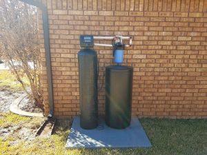 Prefilter, 64 K Water Softener Installed 2