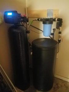 Prefilter, 64 K Water Softener Installed
