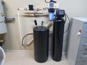 Prefilter, 64 K Water Softener Installed 3