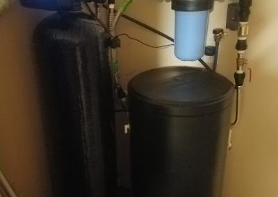 Prefilter, 64 K Water Softener Installed