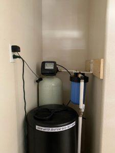 Prefilter, 64 K Water Softener Installed 5