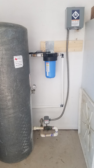 Prefilter Installed On Well