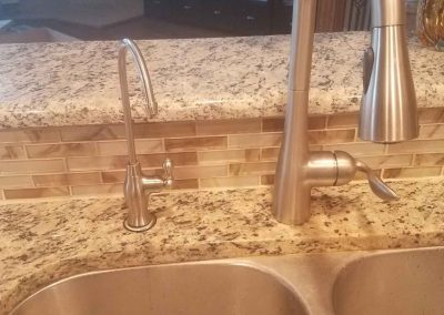 Ro Faucet Installed