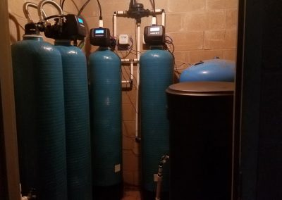 Twin Iron Breaker with Ozone and Twin Water Softener System