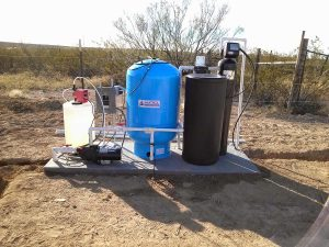 Well Water Filtration   Chlorinator and Softener