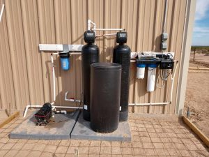 Well Water Water Treatment Equipment   Prefiltration, Softener, Iron Breaker, and UV Light System