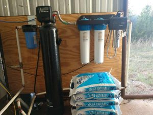 Whole Home Well Water Filtration   Softener and UV Light System