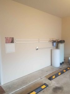 Whole House Filtration System Install From Wall Catch