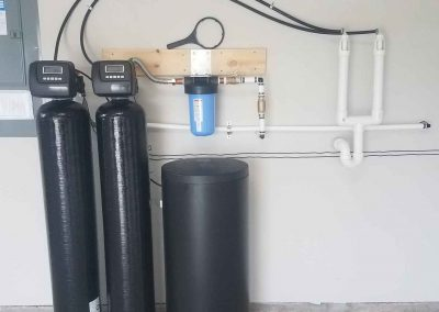 Whole House Filtration System Installed On Looped House