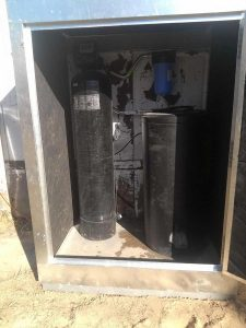 Whole House Water Filtration in Insulated Cover