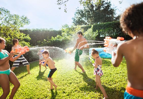 No Pool? Fun Water Activities For Kids During the Texas Summer